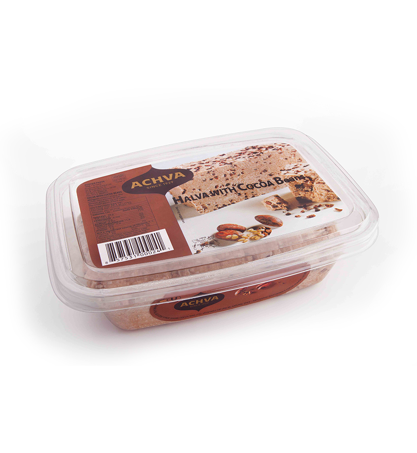 Halva With Cocoa Beans – 454gr